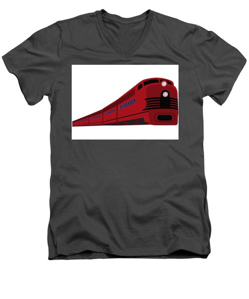 Rail Men's V-Neck T-Shirt