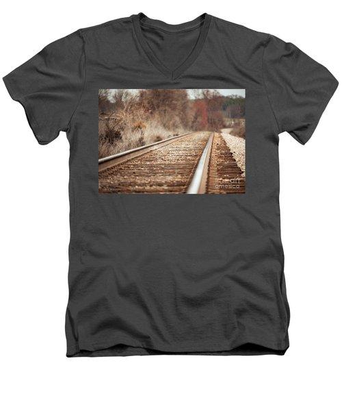 Rails Men's V-Neck T-Shirt