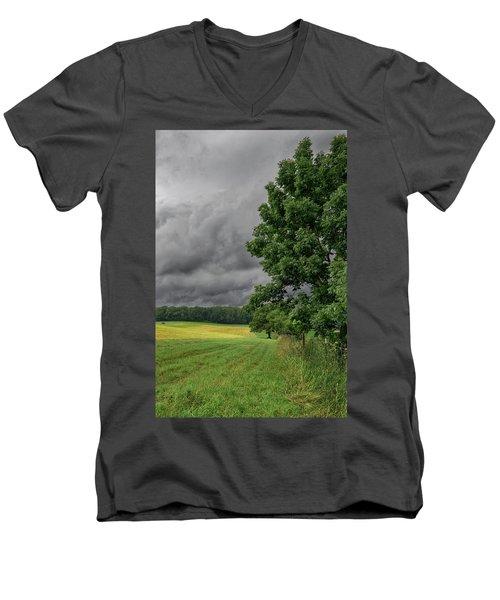 Rain Is Coming Men's V-Neck T-Shirt