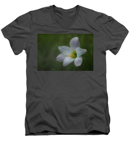 Rain Lily Men's V-Neck T-Shirt