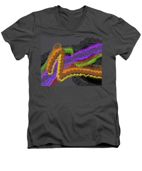 Rainbow Currents Men's V-Neck T-Shirt
