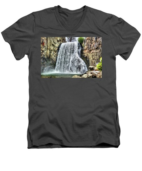 Rainbow Falls 7 Men's V-Neck T-Shirt