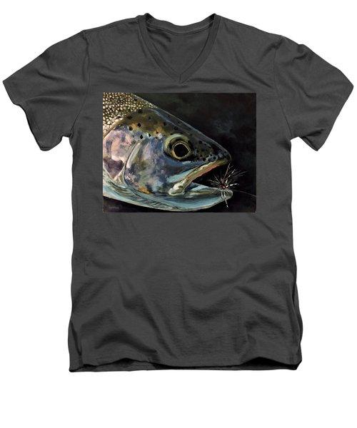 Rainbow Portrait Men's V-Neck T-Shirt