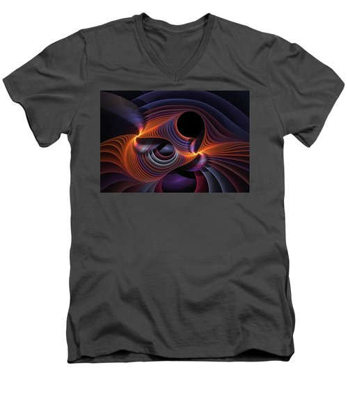 Rainbow Sonata Men's V-Neck T-Shirt