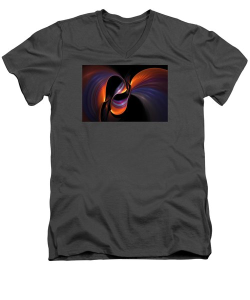 Rainbow Tango Men's V-Neck T-Shirt