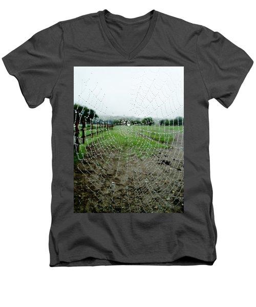 Raincatcher Web Men's V-Neck T-Shirt