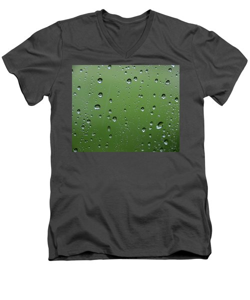 Raindrops  2 Men's V-Neck T-Shirt