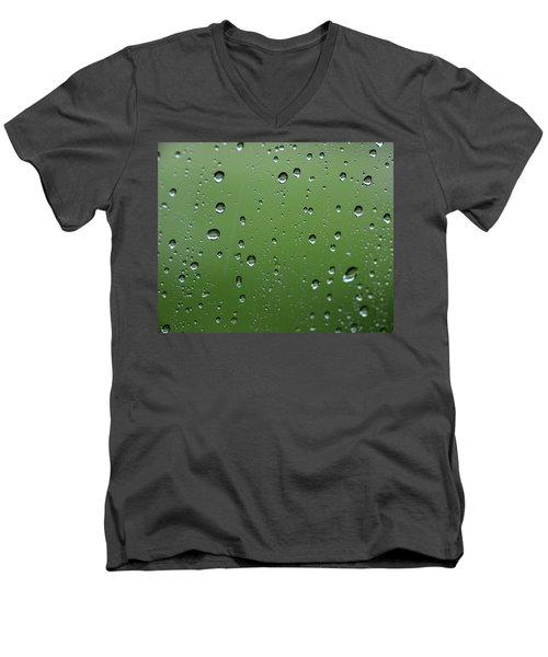 Raindrops  2 Men's V-Neck T-Shirt