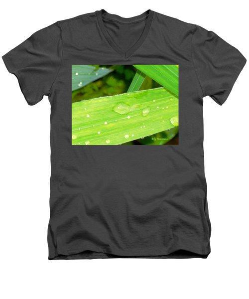Raindrops Men's V-Neck T-Shirt