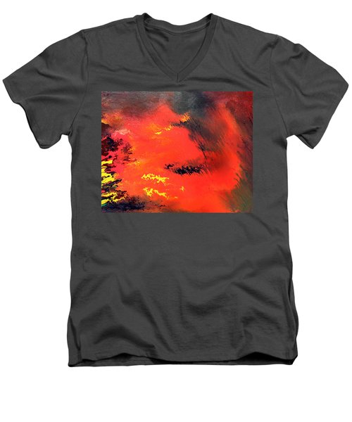 Raining Fire Men's V-Neck T-Shirt