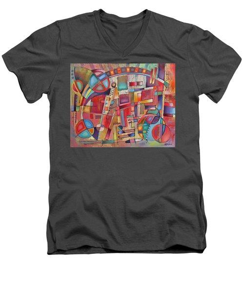 Rainmakers' Circus Men's V-Neck T-Shirt