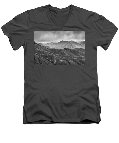 Rainy Day Men's V-Neck T-Shirt by Hitendra SINKAR