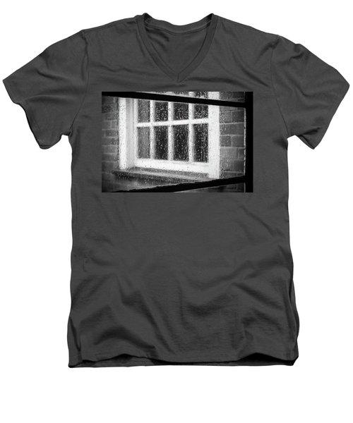 Rainy Day Window Men's V-Neck T-Shirt