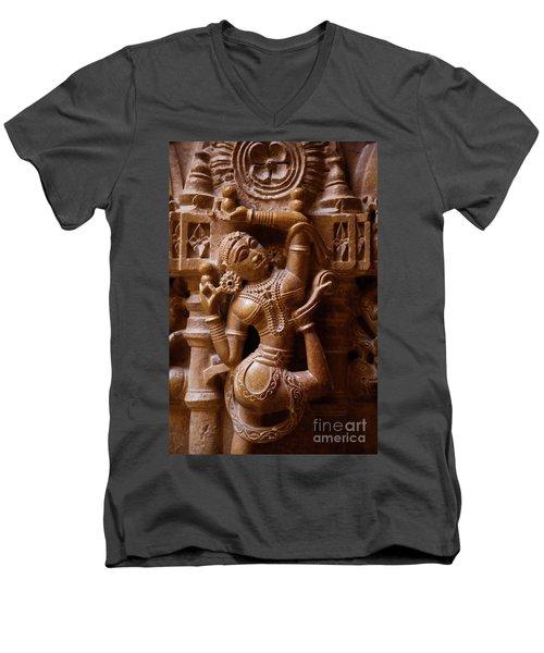 Rajashtan_d287 Men's V-Neck T-Shirt