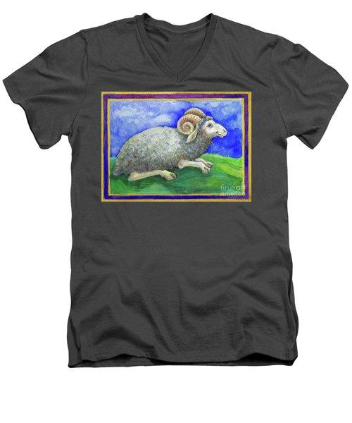 Ram Men's V-Neck T-Shirt