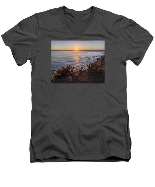 Rancho Gold G Men's V-Neck T-Shirt