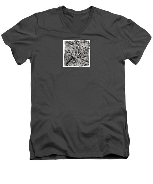 Random Iv Men's V-Neck T-Shirt by Molly Williams
