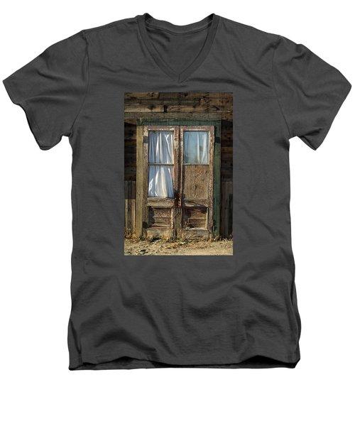 Randsburg Door No. 1 Men's V-Neck T-Shirt