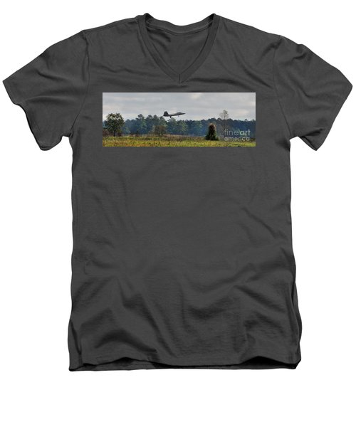 Raptor Approach Men's V-Neck T-Shirt