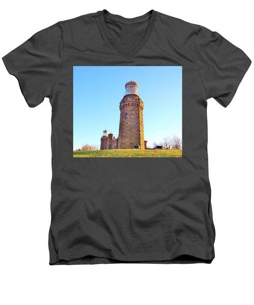 Rapunzels Tower Men's V-Neck T-Shirt