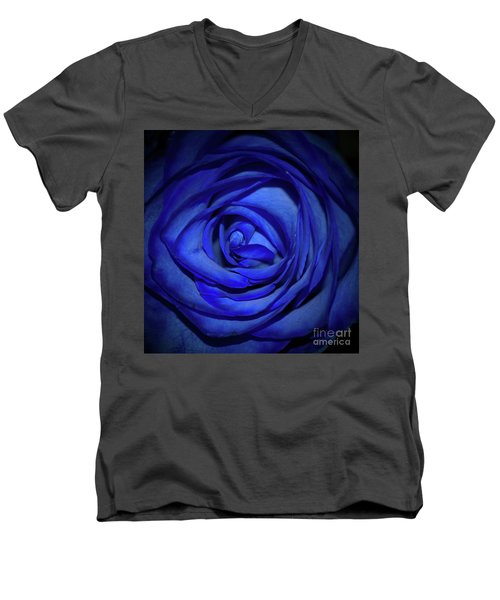Rara Complessita Men's V-Neck T-Shirt by Diana Mary Sharpton