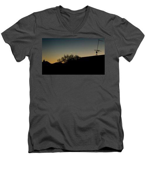 Rare In Nyc Men's V-Neck T-Shirt