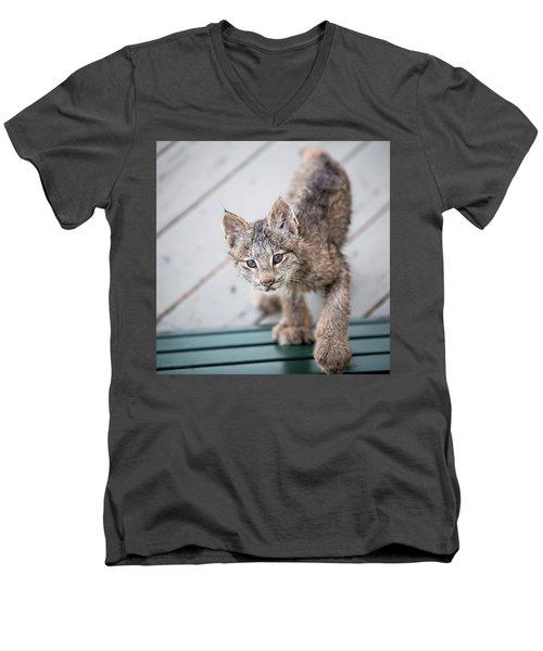 Does Click Mean Edible Men's V-Neck T-Shirt