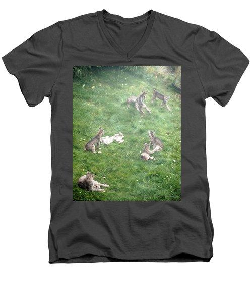 Play Together Prey Together Men's V-Neck T-Shirt
