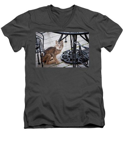 Are You Looking At Me Men's V-Neck T-Shirt