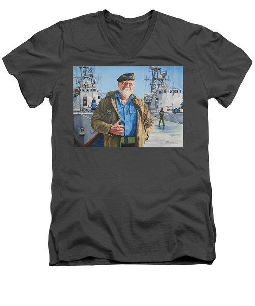 Ras Men's V-Neck T-Shirt