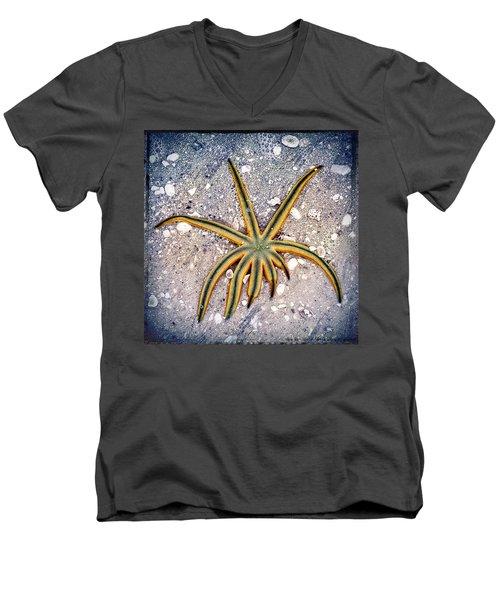 Rasta Star Men's V-Neck T-Shirt