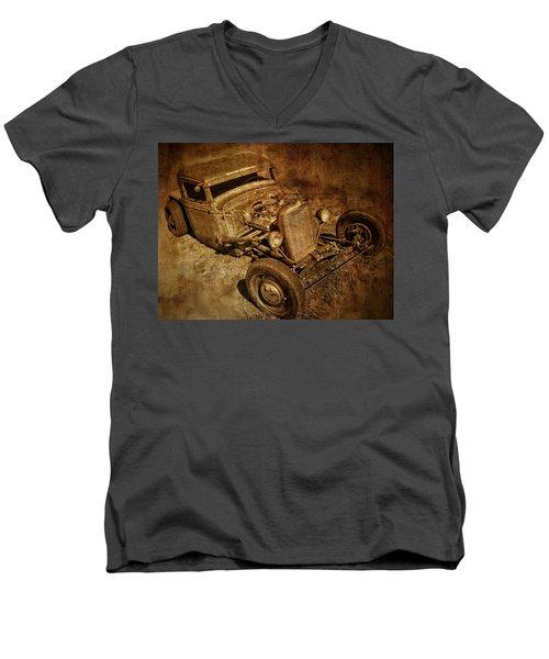 Rat Rod Men's V-Neck T-Shirt