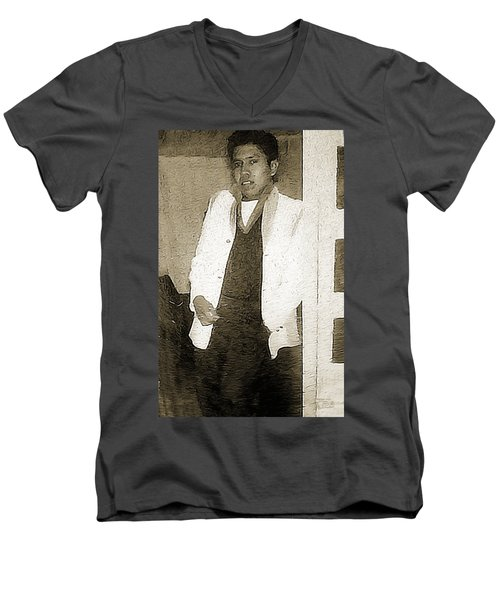 Ray Zor Sharp Men's V-Neck T-Shirt