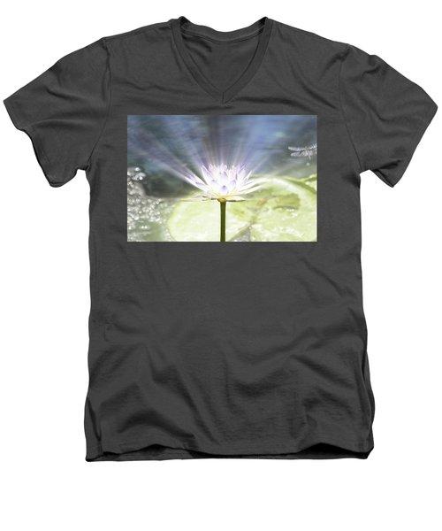 Rays Of Hope Men's V-Neck T-Shirt by Douglas Barnard