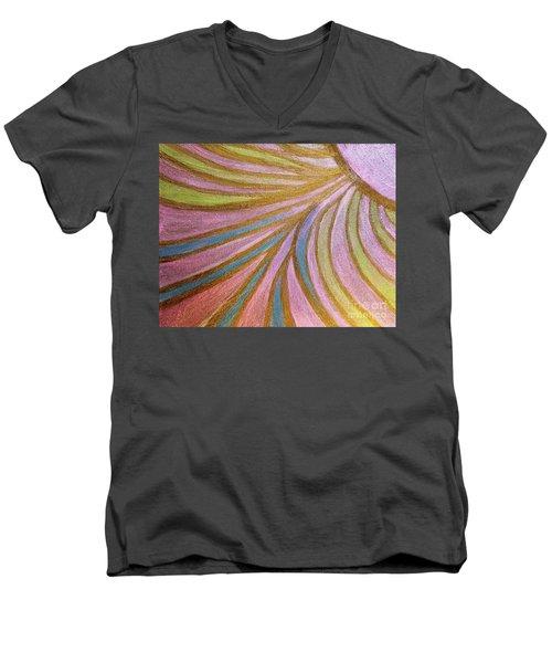 Rays Of Hope Men's V-Neck T-Shirt by Rachel Hannah