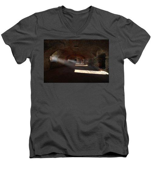 Rays Of Light - Raggi Di Luce Men's V-Neck T-Shirt
