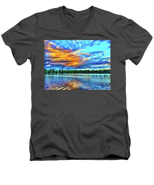 Razzle - Dazzle Men's V-Neck T-Shirt