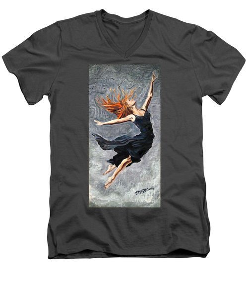 Reach For The Stars Men's V-Neck T-Shirt