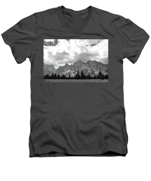 Men's V-Neck T-Shirt featuring the photograph Reach To The Sky by Colleen Coccia