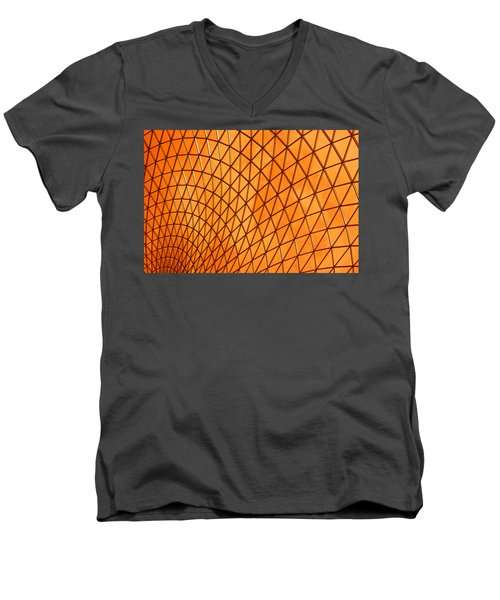 Orange Glow Men's V-Neck T-Shirt