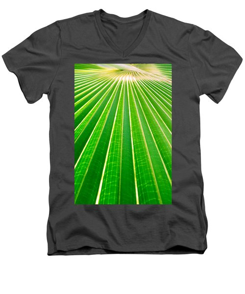 Reaching Out Men's V-Neck T-Shirt by Holly Kempe