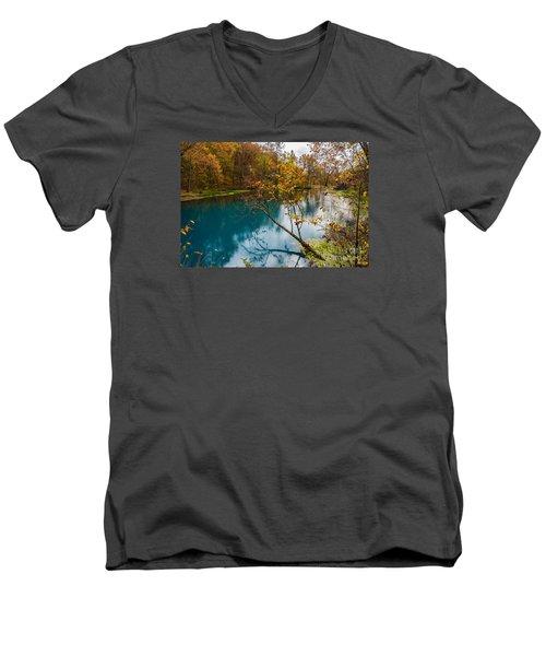 Reaching Out Men's V-Neck T-Shirt