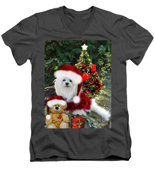 Ready For Christmas Men's V-Neck T-Shirt