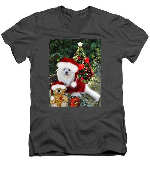 Ready For Christmas Men's V-Neck T-Shirt