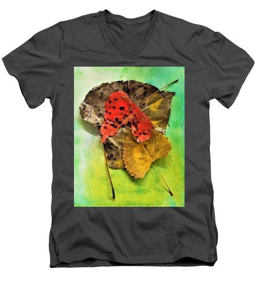 Ready For The Pile  Men's V-Neck T-Shirt