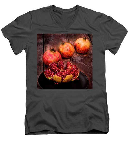 Ready To Eat Men's V-Neck T-Shirt