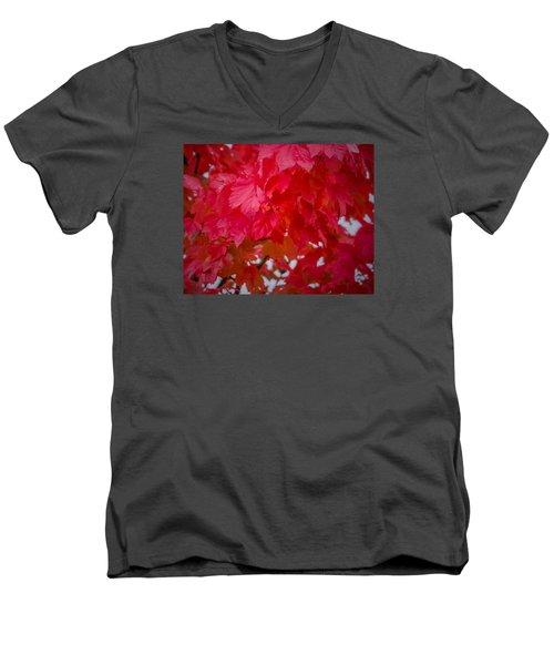 Ready To Fall Men's V-Neck T-Shirt