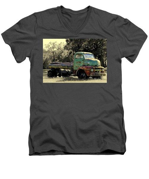 Ready To Ride Men's V-Neck T-Shirt