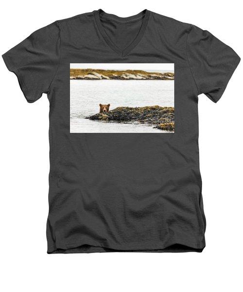 Ready To Swim Men's V-Neck T-Shirt