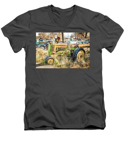 Ready To Work Men's V-Neck T-Shirt